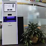Albury-Wodonga Library RFID self-check unit